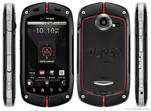 MIL Smart Phones - Casio G'zOne Commando